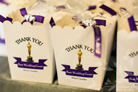 theme wedding favors themed wedding popcorn favors our themed wedding