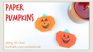 Kids Halloween Crafts by Halloween Crafts Diy Paper Pumpkins Origami Pumpkin Easy
