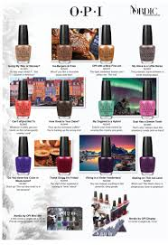 opi nordic nail polish collection for fall 2014 makeup4all