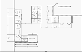 14 nice how to draw a kitchen floor plan house and living room