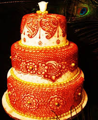 indian wedding cakes for traditional wedding