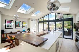 beautiful kitchen extension by landmark lofts in west london