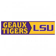 lsu alumni sticker tigers geaux tigers bumper sticker decal