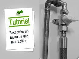 norme robinet gaz cuisine comment raccorder un tuyau de gaz sans collier leroy merlin