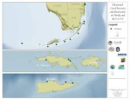 Map Of The Keys In Florida by Florida U2013 Ecological Restoration Reef Resilience