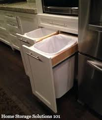 kitchen trash can ideas kitchen trash can ideas home design ideas
