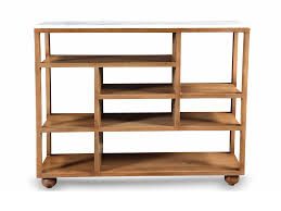 modern wood console table saka marble console table