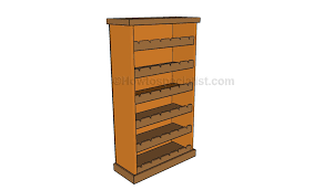 wooden wine rack plans howtospecialist how to build step by