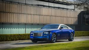 roll royce ghost blue rolls royce bespoke ghost and wraith pay tribute to south korea
