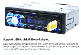 Cd Player With Usb Port For Cars Big Power Car Interior Electronics Radio Cd Player Lcd Display Mp3