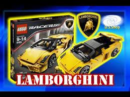 lamborghini veneno lego lego racers lamborghini gallardo set 8169 como armar juguetes