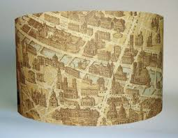 Vintage Floor Lamp Shades Map Lamp Shade Vintage Map Lampshade Pretty Handy Girl Terri
