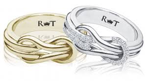 what does a knot ring a guide to wedding rings for lgbt couples the jewelry loupe