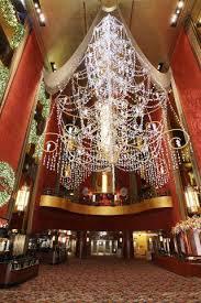 Chandelier New York Christmas Chandelier Inside Radio City Music Hall New York City