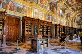 Most Breathtaking Libraries in the World   Great Value Vacations El Escorial Library in Spain