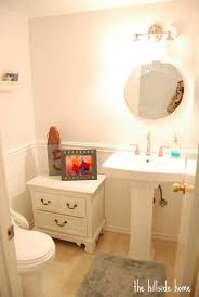 bathroom lovely small bathroom with wainscoting ideas and fancy