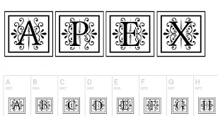 90 best free monogram fonts and fonts techclient