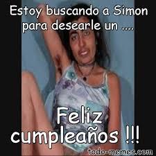 Simon Meme - arraymeme de estoy buscando a simon para desearle un feliz cumple