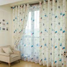 White Energy Efficient Curtains Energy Saving Bedroom Curtains For Kids Buy White Print Eco