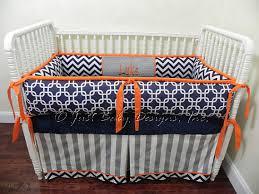 Custom Boy Crib Bedding Custom Crib Bedding Set Luke Boy Baby Bedding Navy And