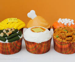 thanksgiving cupcake decorating ideas thanksgiving dinner cupcakes 10 steps with pictures