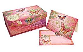 punch studio box with 10 note cards and