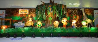 jungle theme decorations birthday balloon decorations and theme decorators in ballon kids