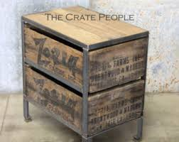 Wooden Crate Nightstand Free Shipping Vintage Wood Crates Zoria Farms Crate