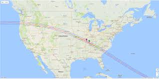 Ohio Map Us by U S Prepares For Coast To Coast Total Solar Eclipse Wbns 10tv