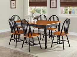 black farmhouse dining set wood farm table rustic farm table where