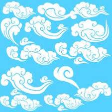 eternal knot and ribbon cloud design from a selection of other