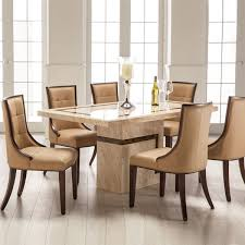 Oak Dining Table With 6 Chairs Glamorous Marble Dining Table And 6 Chairs Of Chair Cozynest Home
