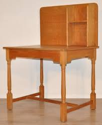 Tall Writing Desk by Attractive Tall Vintage Solid Oak Students Childs Office Small