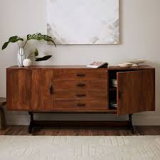 Sideboard In Living Room Lars Mid Century Buffet U2013 Large West Elm