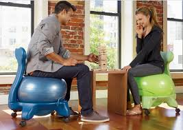 Yoga Ball As Desk Chair Top 3 Stability Ball Chairs For A Stronger Core And Improved