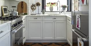 Small White Kitchen Cabinets 55 Small Kitchen Design Ideas Decorating Tiny Kitchens