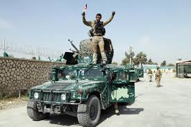 Taliban Flag Taliban Leader Says Capture Of Afghan City Shows Insurgency Is