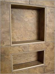 tile shower niche smartly design troo