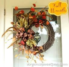 door wreaths fall front door wreaths sttement frt wreaths for front door
