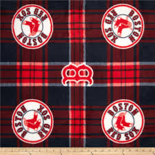 Boston Red Sox Home Decor by Mlb Fleece Boston Red Sox Plaid Blue Red Discount Designer