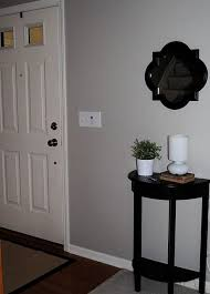 valspar frappe grayish brown color used in library and foyer