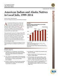 us bureau of justice bureau of justice statistics indian and alaska natives in