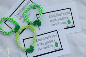 rainbow loom lucky charm bracelet and free printable page 2 of 2