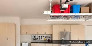 Garage Ceiling Storage Systems by Overhead Storage Racks Garage Storage Shelves