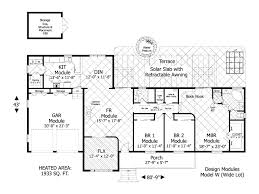 simple bungalow floor plans small craftsman bungalow floor plan and elevationtiny house
