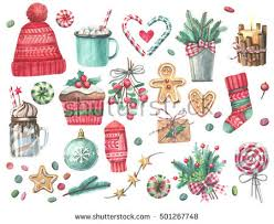 watercolor christmas stock images royalty free images u0026 vectors