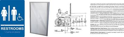 Ada Requirements For Bathrooms by Ada Tilt Frame Mirror Regulations