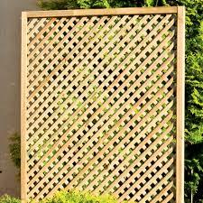 Wooden Trellis Panels Clementine Diamond Trellis U003e Garden Panel Tate Fencing