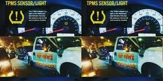 tire pressure sensor light danger oahu tire pressure low rain hazard tip tows llc