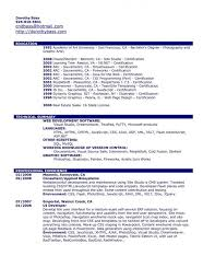 Resume For Photography Job by Curriculum Vitae Retreat Capital Management Resume For Ba